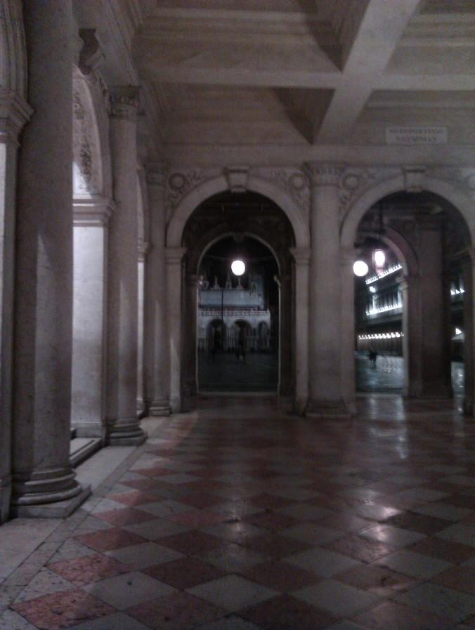 Entering Piazza San Marco